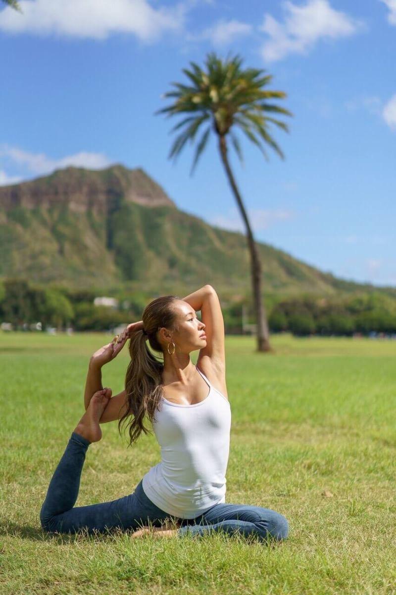 Yoga class: Rika @ UNDER THE PALMO - HAYAMA MORITO BEACH