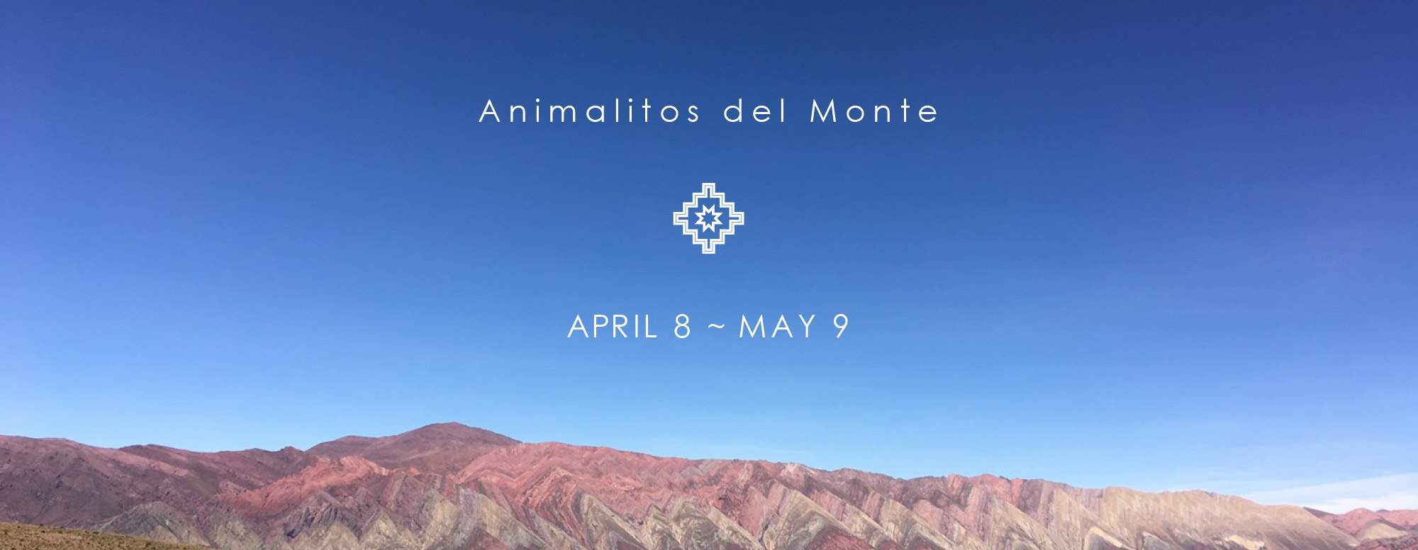Animalitos del Monte exhibition
